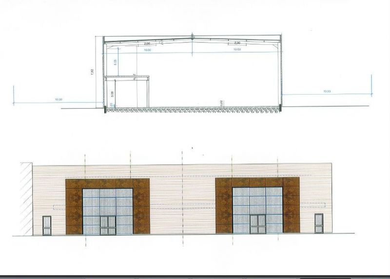 Local commercial neuf Saran 330 m2